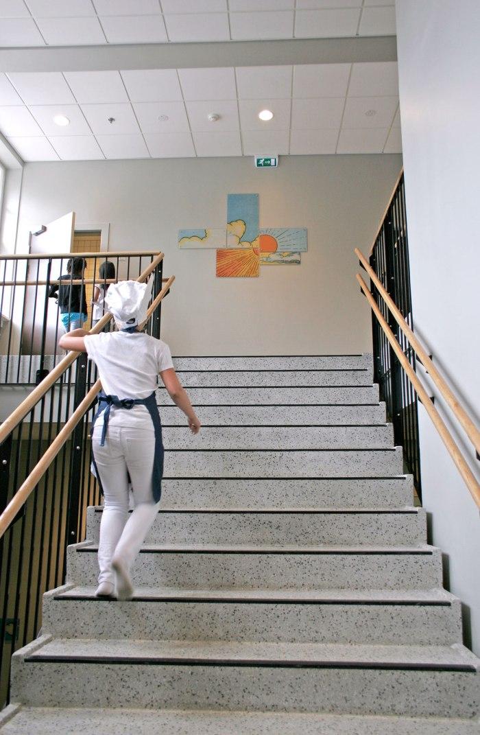 Utsmykking på Bestum Skole.